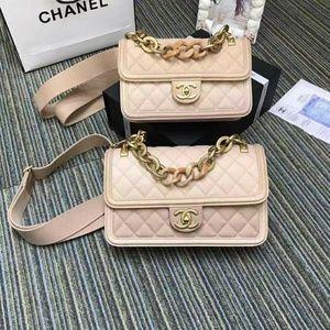 Chanel Classic flap mini Check description